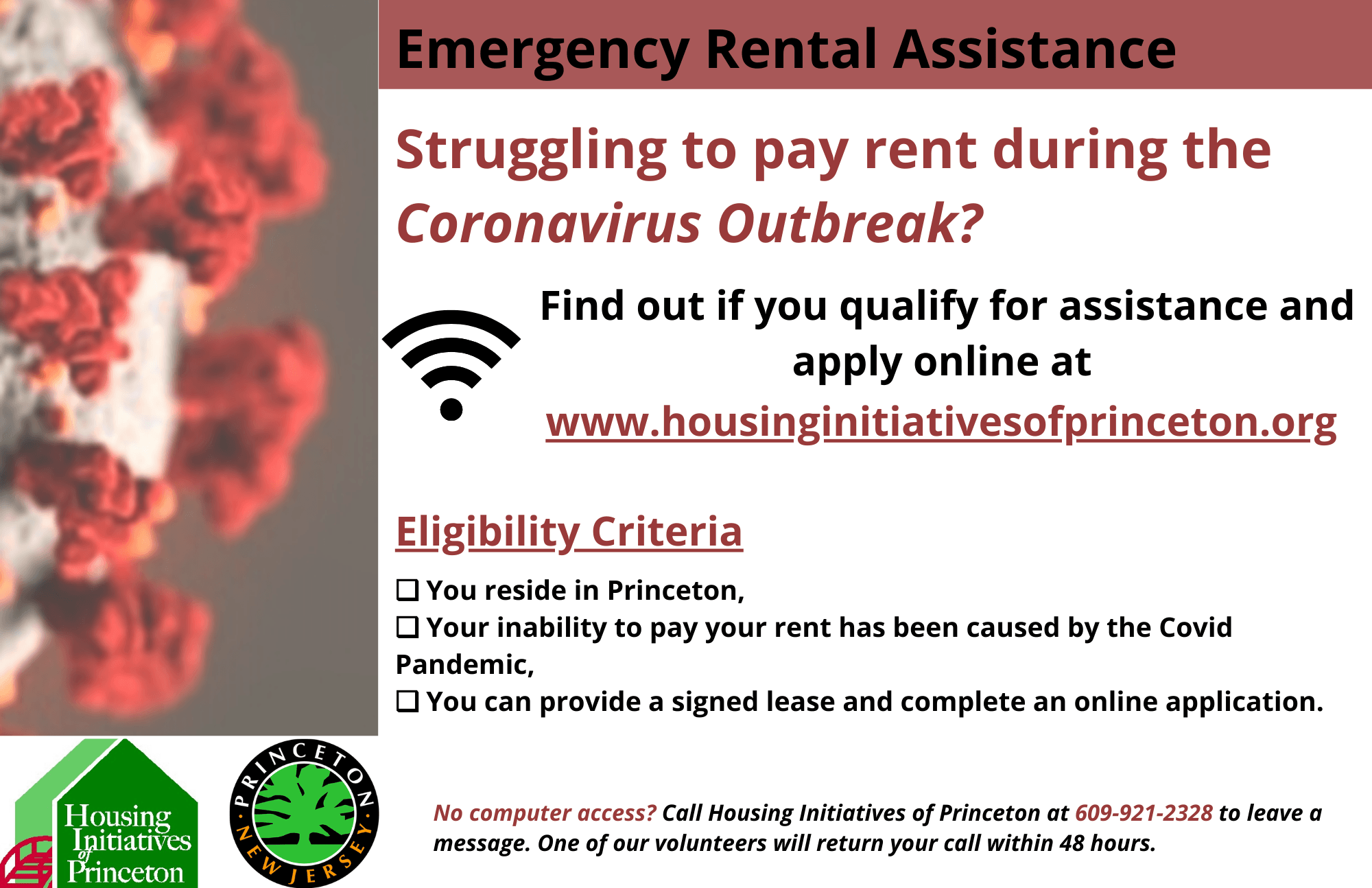 HIP Housing Assistance Flyer EN