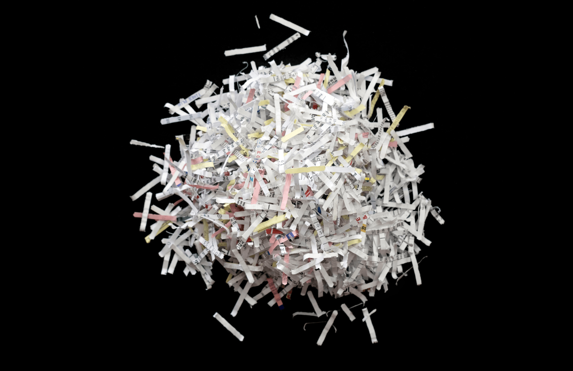 Document Shredding (PNG)